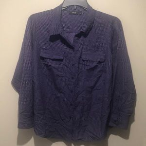 Purple Buttondown Shirt
